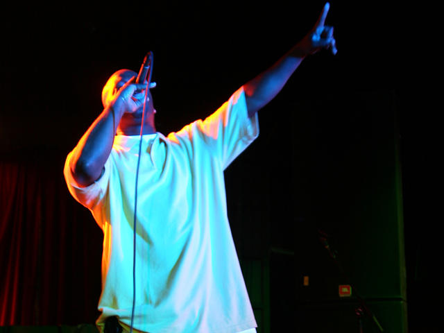 Soul Father Rasco on point at Club Avalon San Jose CA 2007.