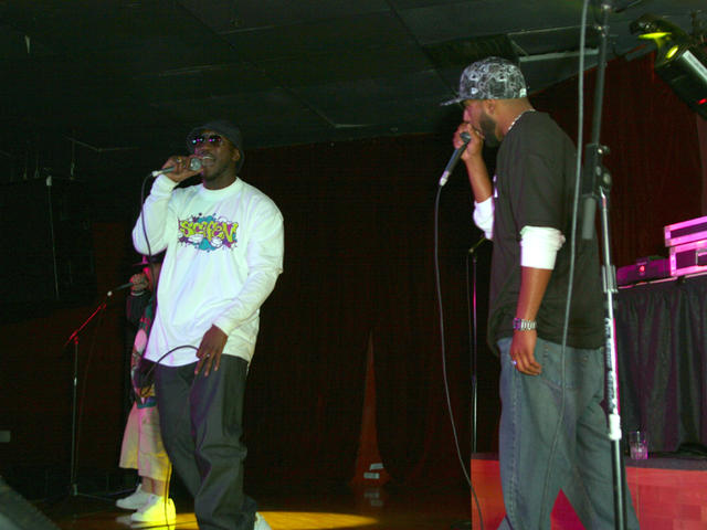 Prince Ali and crew on point at Club Avalon rocking the MIC 2007.