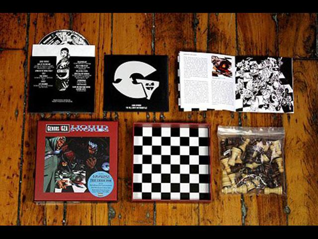 GZA Liquid Swords Album Re-Issue