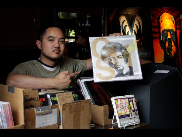 Local Waxpoetics retailer showcases his vinyl selections at Beat Swap Meet 2011