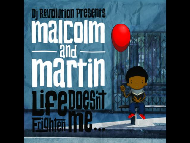 DJ Revolution ~ Duo Malcolm & Martin Debut LP