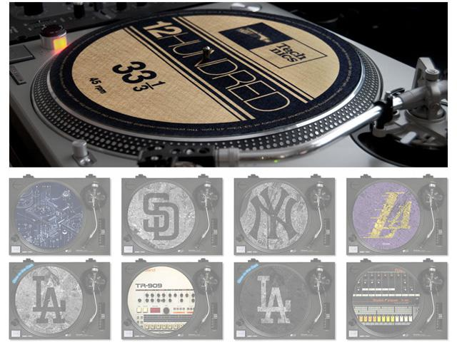 Deejay Turntable Slipmats Twelve Flavors Available at Big Noise MPC by Dskreet