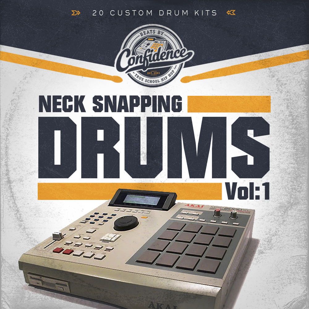 Neck Snapping Drums Vol 1 by Confidence | Digital Download
