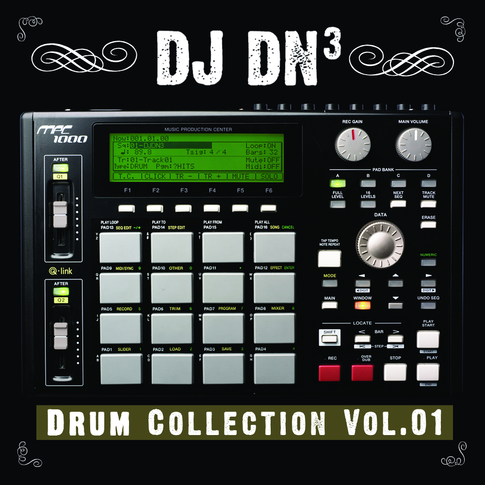 DJ DN3 Drum Collection Vol 01 WAV Files | Digital Download